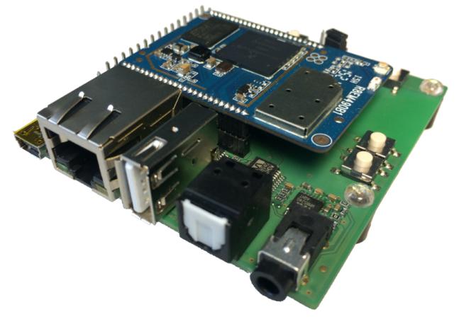 HBM10-EVAL - Die neue Testplattform für das LinTech WLAN Audiomodul
